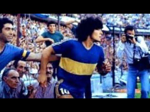 El debut de Diego Maradona en Boca Juniors. Hace 40 años entraba a la Bombonera y jugaba así.