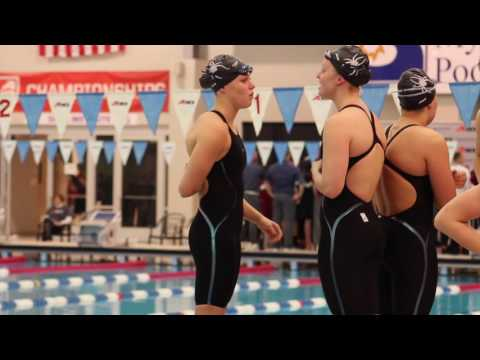 Atlantic 10 Swimming & Diving Day 1 Highlights