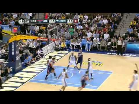 NBA Atlanta Hawks Vs Denver Nuggets Highlights Mar 13, 2012 Game Recap