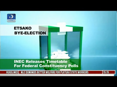 News Across Nigeria: INEC Releases Timetable For Etsako Bye-Election