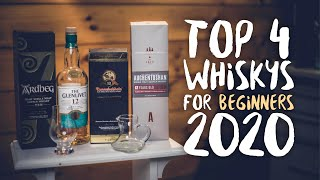 4 Best Whiskies For Beginners 2020 (affordable)