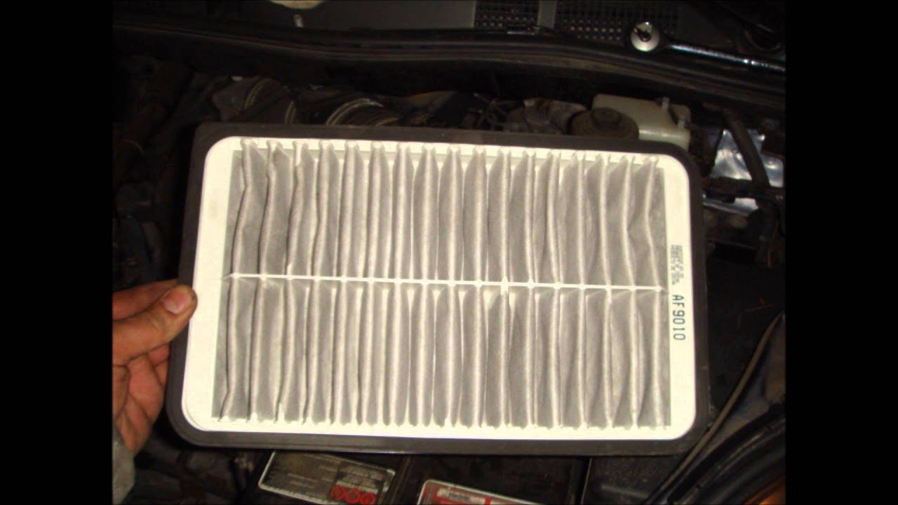 How to replace change air filter on toyota sienna 2007 08 09 10 youtube