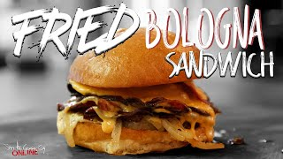 Fried Bologna Sandwich | SAM THE COOKING GUY
