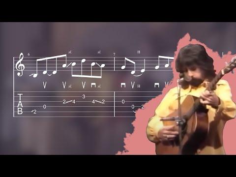 How Clarence White Plays Dark Hollow - Bluegrass Guitar