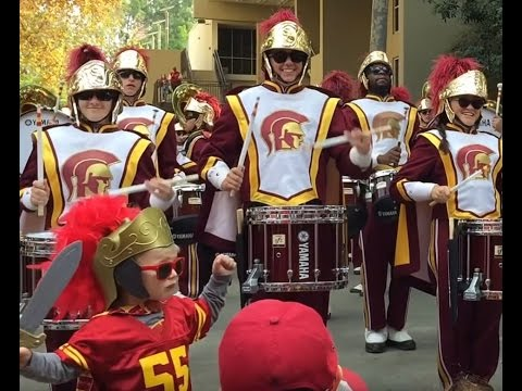 USC Band Beatles Star Trek - Everett Little Drum Major Application Video ;) Full Show 11/26/16