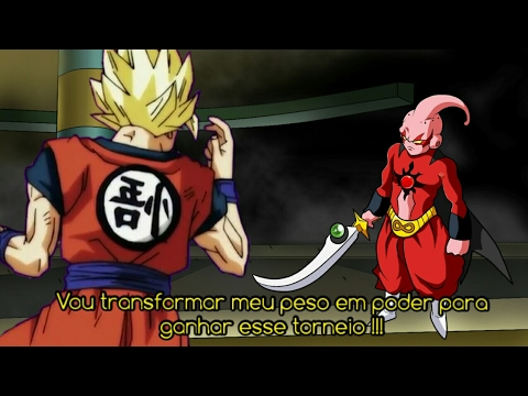 Majin Boo Fica Magro Apos Treino Combate Com Goku Dragon Ball
