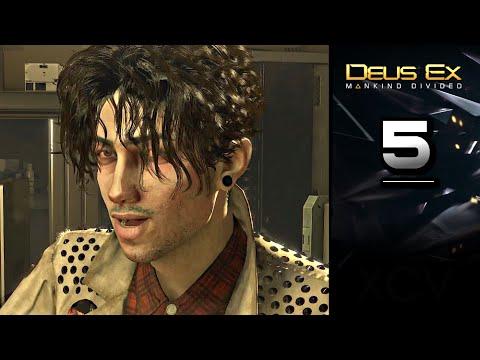 DEUS EX: Mankind Divided Gameplay Walkthrough Part 5 · Mission: Getting in Top Shape Again