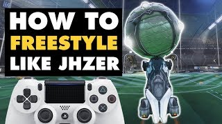 Rocket League | How to Freestyle like JHZER
