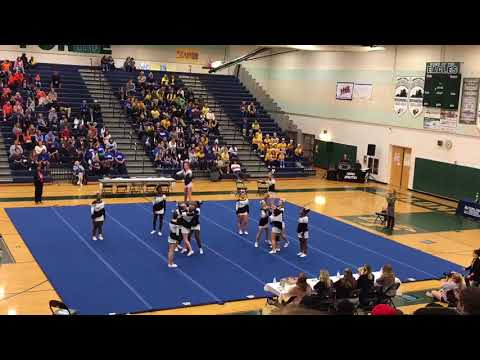 Massaponax High School cheer districts October 2017