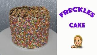 Freckles Cake - Rainbow Cake