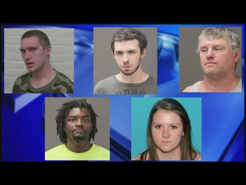 Ware Police: 5 charged with distribution of heroin