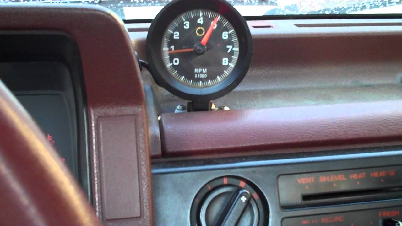 Mazda B2200 10F (-12C) Cold Start- with Weber 32/36 and Pacesetter Header