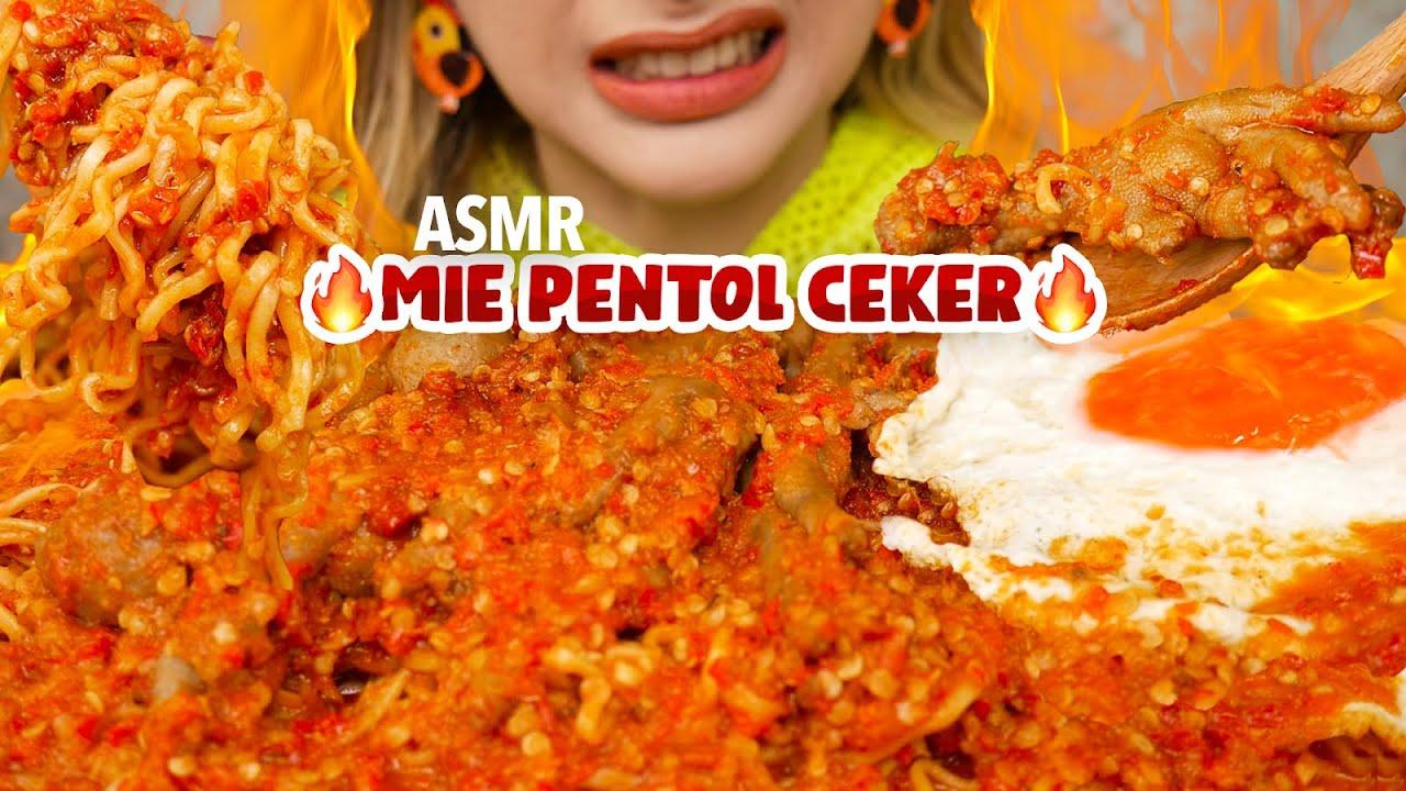 #168 Request ASMR MIE PENTOL CEKER GR4NAT PEDES BANGET BUND!! 🔥 | ASMR Indonesia