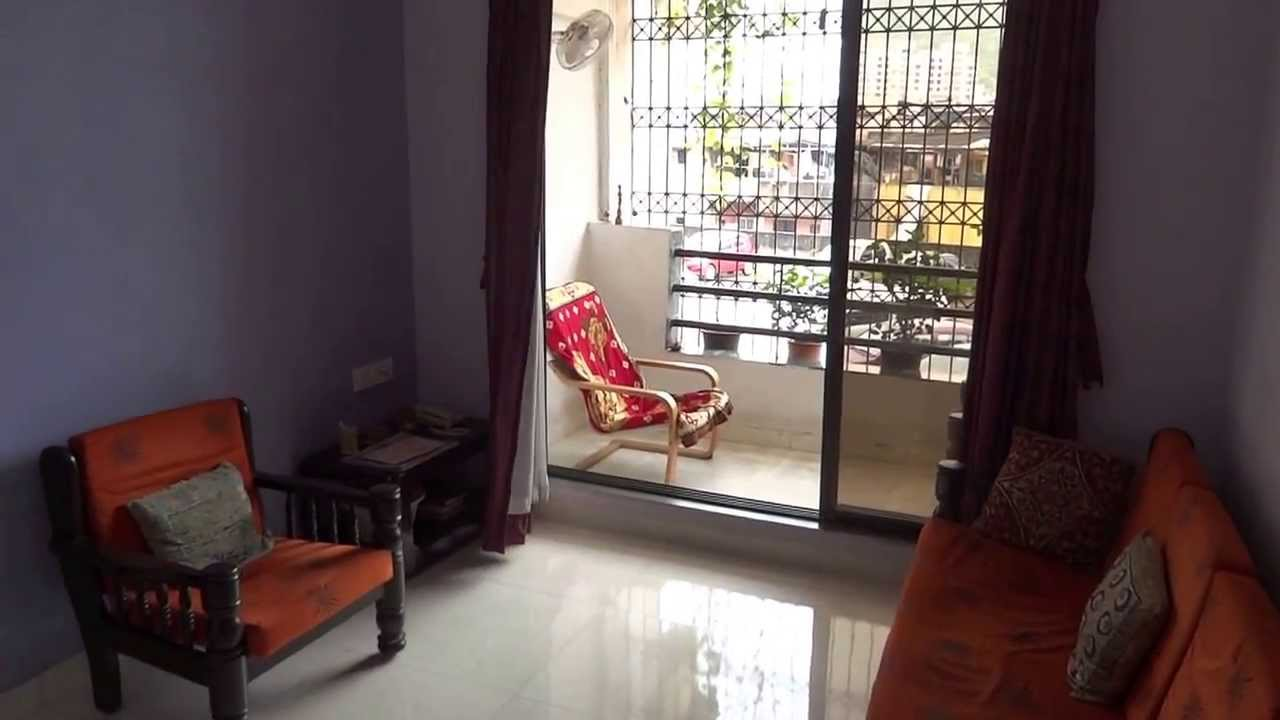 Indian flat interior design youtube for 1 bhk living room interior