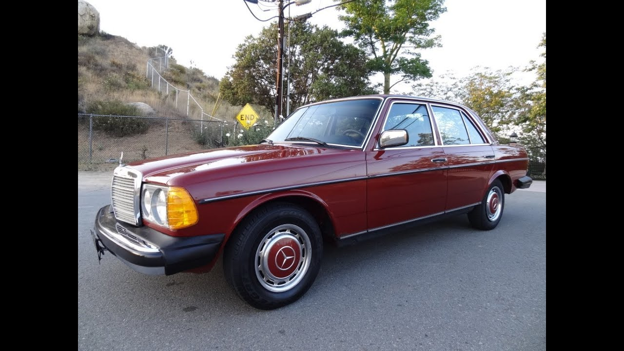 Mercedes benz 240d w123 diesel sedan non turbo bio 300d for Mercedes benz 240 d