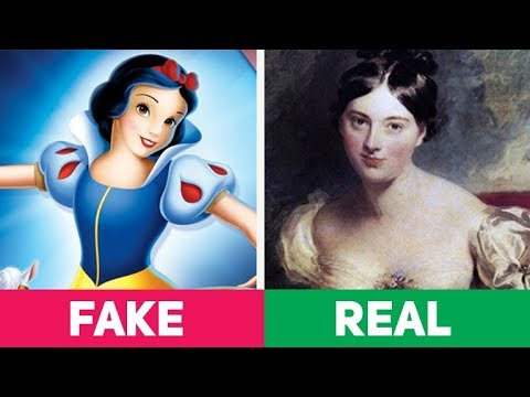 5 Disturbing REAL STORIES Behind DISNEY Fairy Tales