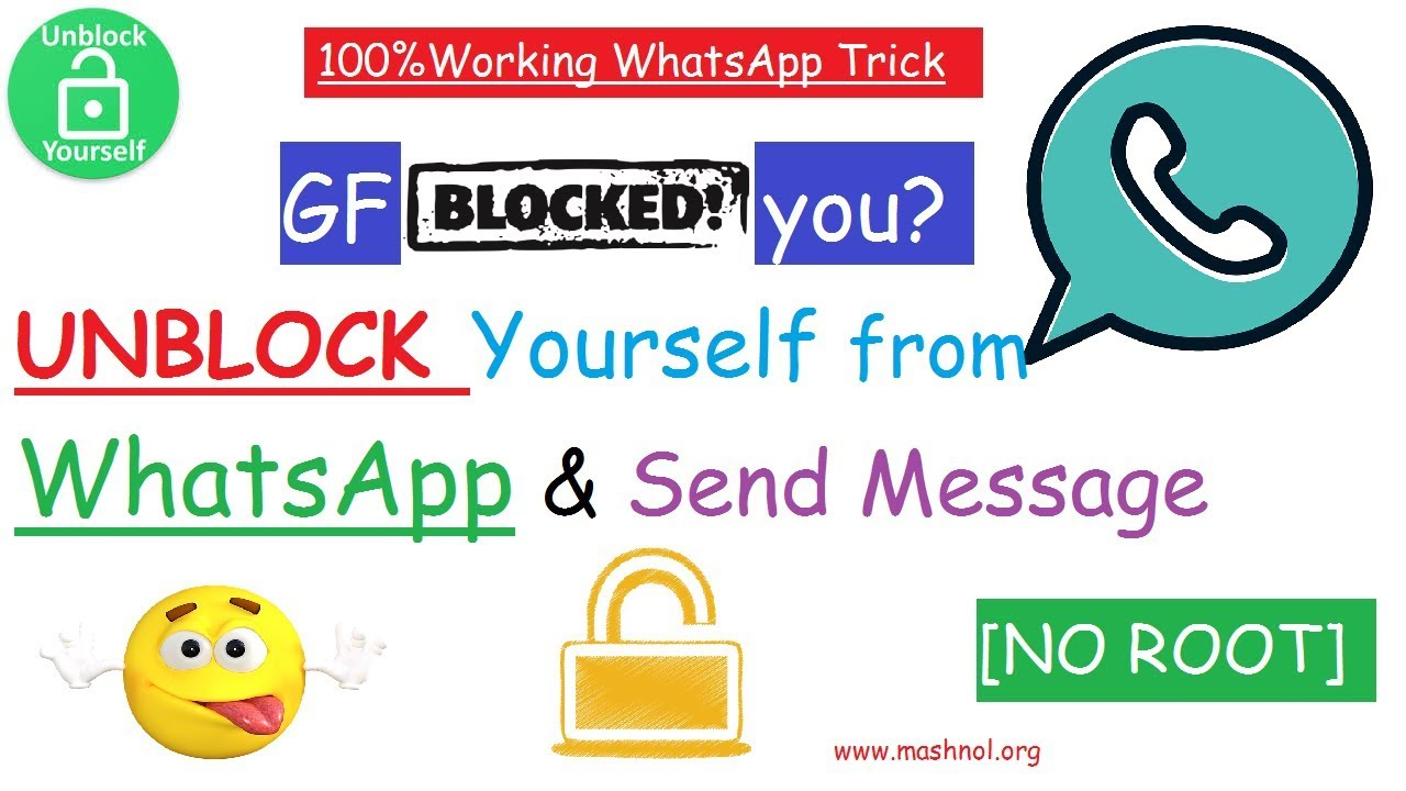 How to Unblock Yourself from Someone WhatsApp Account [Update]