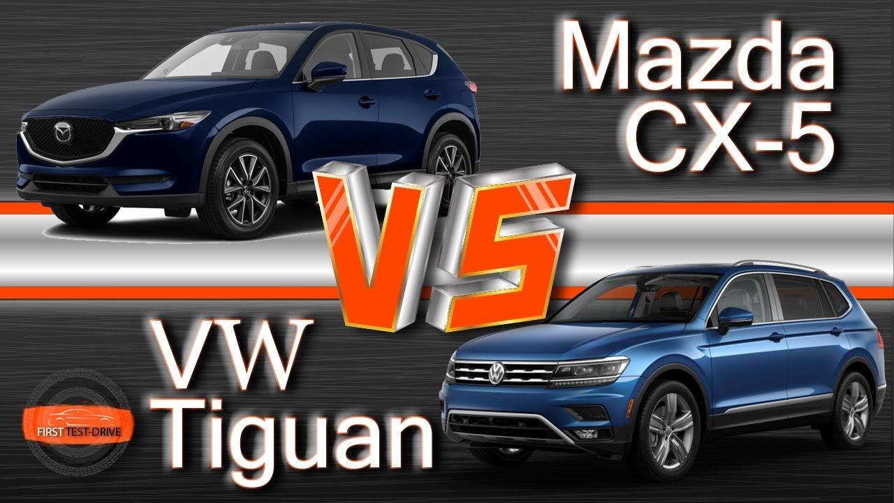 Mazda CX-5 vs Volkswagen Tiguan. Японская школа против ...