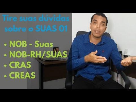 NOB - Suas, NOB-RH/SUAS, CRAS  e CREAS   Tire suas dúvidas sobre o SUAS 01