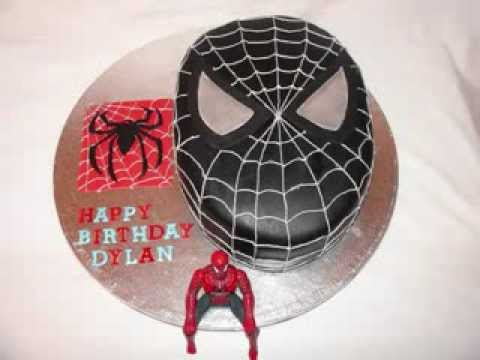 Black spiderman cakes - photo#8