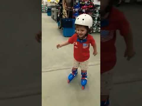 design de qualité 07a88 78aa4 bebe 2 ano de patins amou patinar