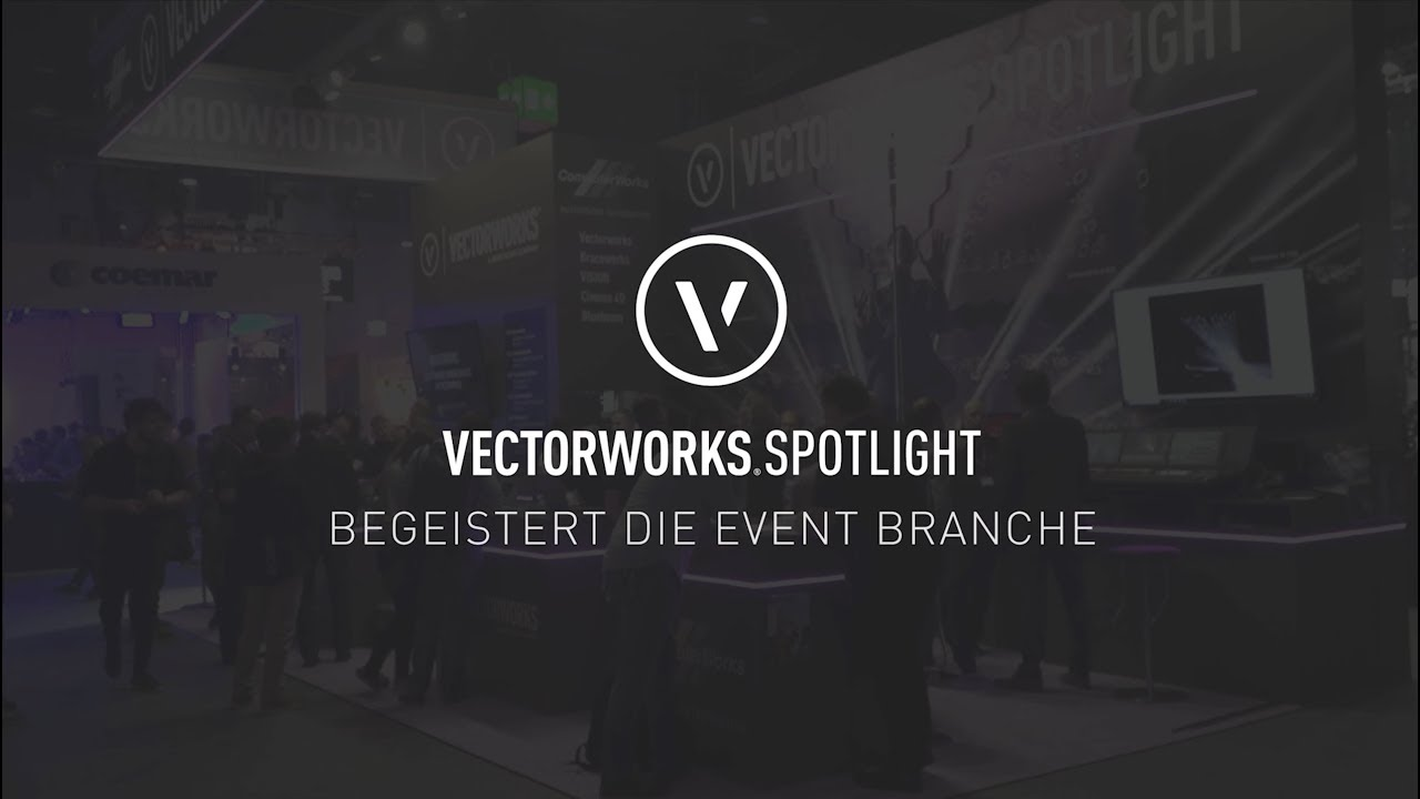 Vectorworks spotlight begeistert die event branche youtube