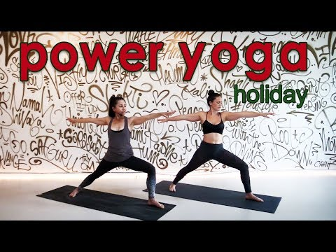 30 Minute Holiday Power Yoga Workout
