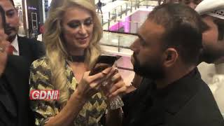 Paris Hilton meets her fans at City Centre Bahrain