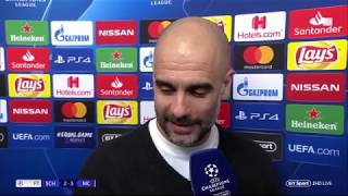 """We are not ready to fight for the latter stages"" Pep Guardiola after Schalke vs Man City"