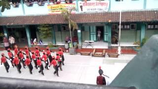Repeat youtube video Flashmob Gojigo 25 PASKIBRA SMP 4 CIAMIS