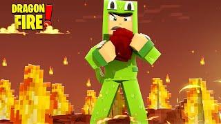 THE NEW FIRE DRAGON EGG! - Minecraft DragonFire