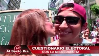 Miss Lucecita somete a examen oral a sus alumnos (1/3)