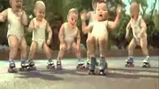 Evian Roller Babies Version 3 - Michael Jackson - Beat it