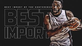 Mike Harris is Best Import of the Conference! | PBA Governors' Cup 2018