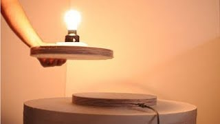 How to Make wireless power transfer to LED Light Simple DIY