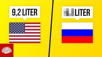 In welchen Ländern wird am meisten Alkohol konsumiert?