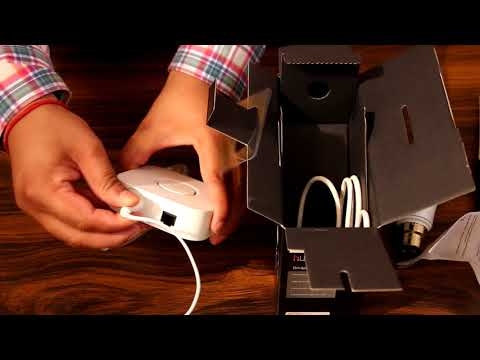 Unboxing and installation of Philips Hue lighting system.