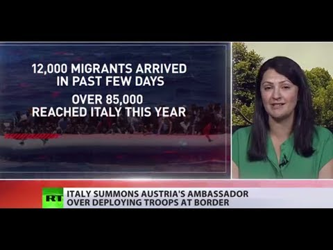 Italy angry at Austria decision to deploy troops & armored vehicles to border