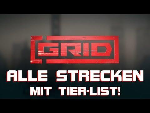 GRID Alle Strecken + Tier List!