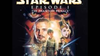 Star Wars Soundtrack Episode I Extended Edition : The Queen & Group Land On Naboo