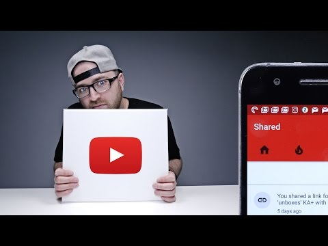 The New YouTube Share Button!