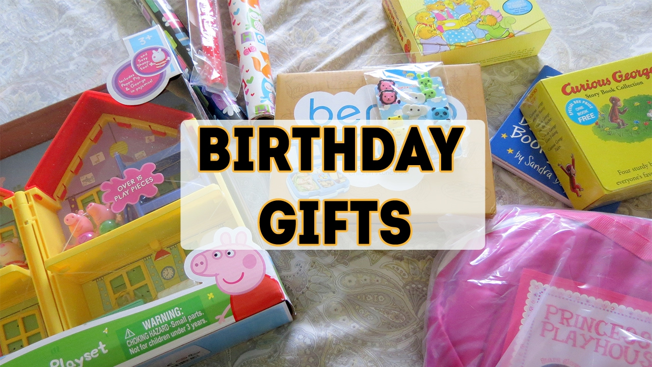 Kiddos 4th Birthday Gifts