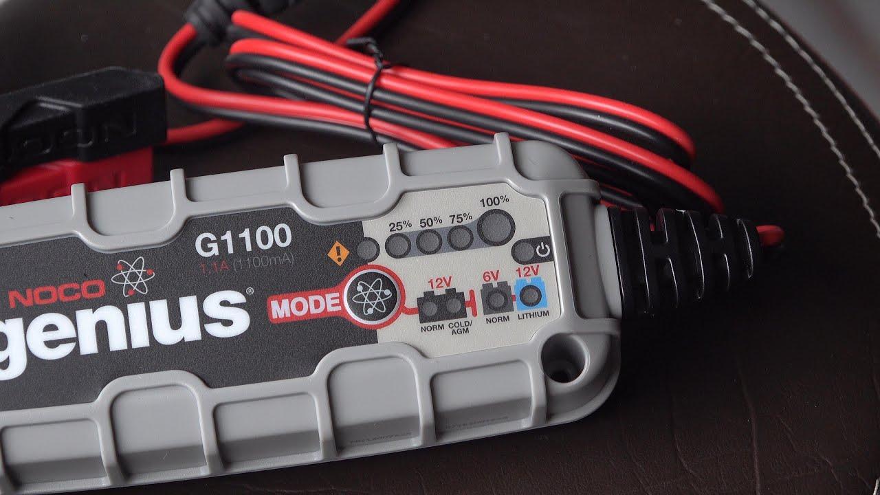 Motorcycle Battery Tenders? NOCO G1100 & Genius 1? dont buy until you've seen this!