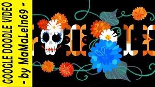 Día de muertos (Day of the Dead) 2014 Google Doodle