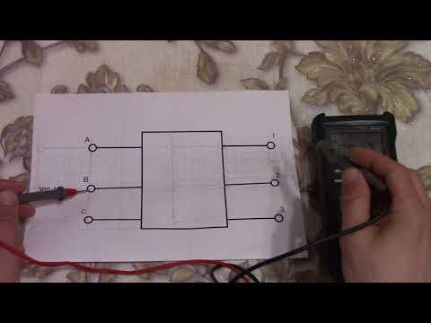 Как сделать фазировку мультиметром