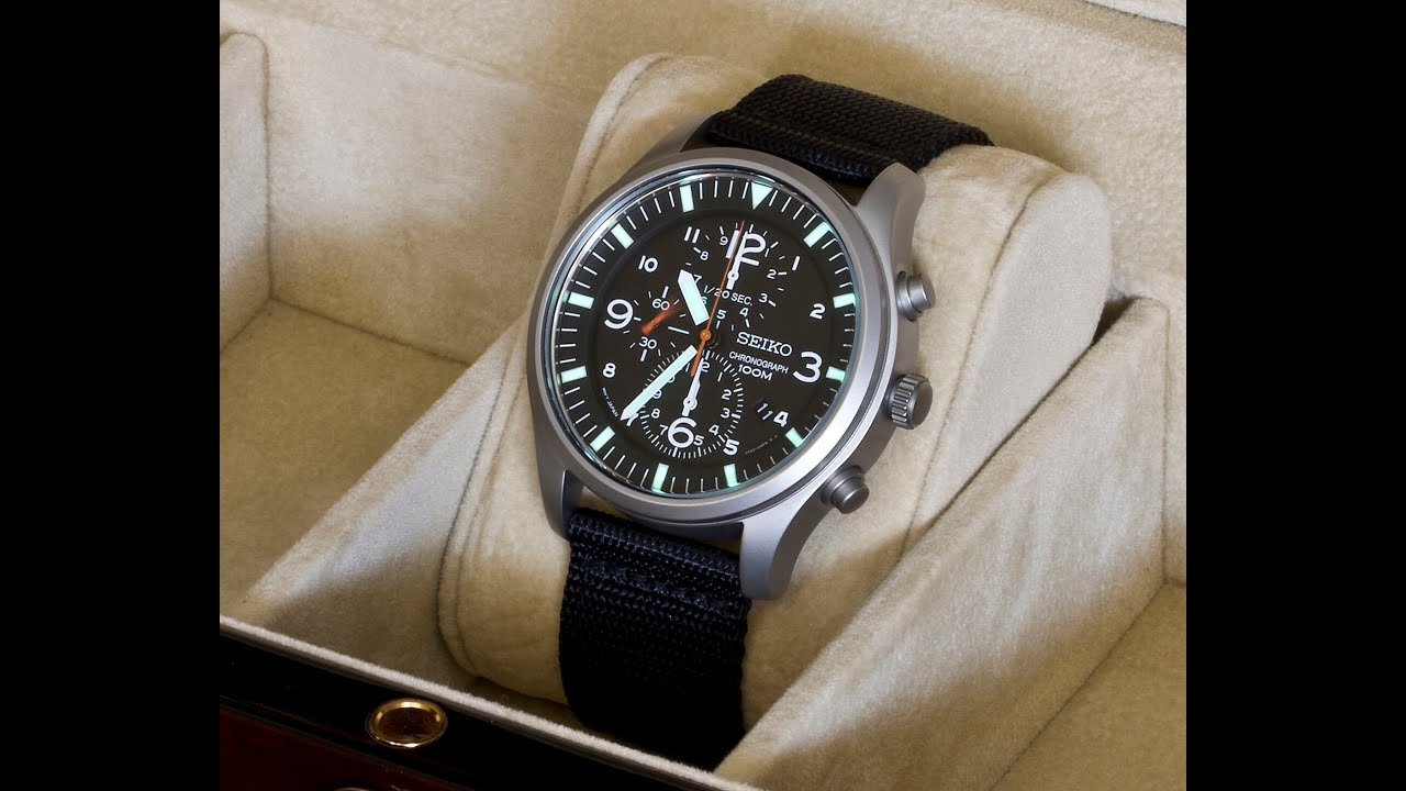 vintage seiko watches chronograph quartz product
