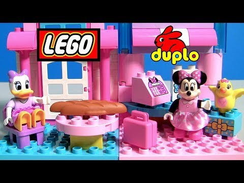 Thumbnail: Disney Minnie Mouse Bow-Tique 10844 with Daisy Duck NEW 2017 Building Toys for Girls