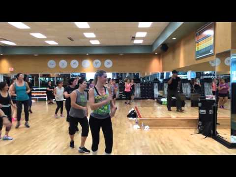 zumba class Roberto lifetime katy texas latin dance