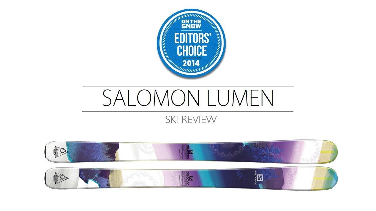 2014 Salomon Lumen Ski Review Women's All Mountain Editors' Choice