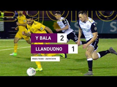 Y Bala 2-1 Llandudno || Uwch Gynghrair Cymru